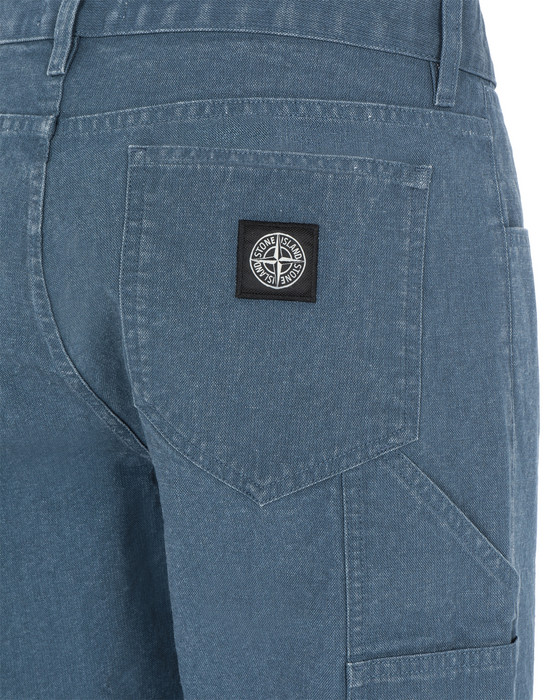 13337126bd - PANTS - 5 POCKETS STONE ISLAND