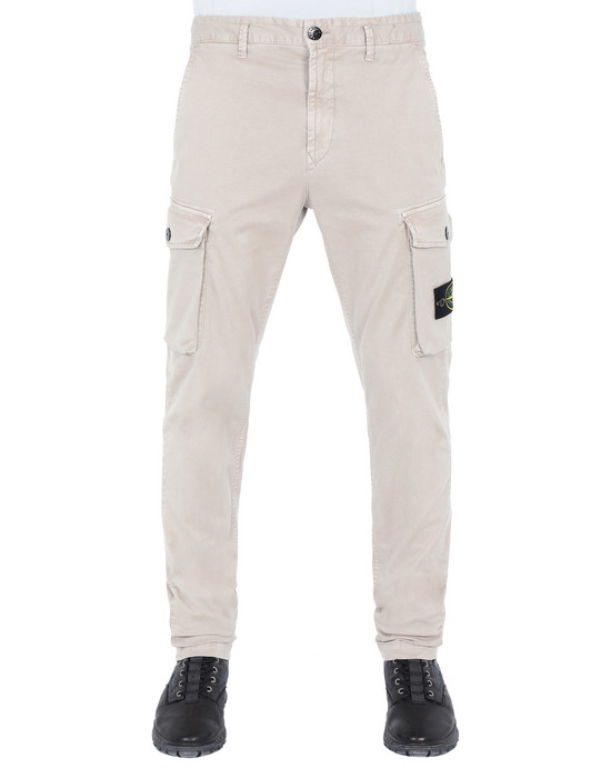 STONE ISLAND Trousers 308L1 'OLD' DYE TREATMENT