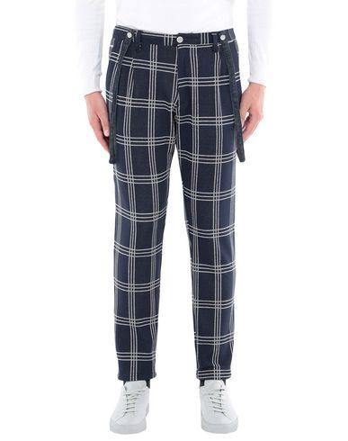 Купить Повседневные брюки от GEAN.LUC темно-синего цвета