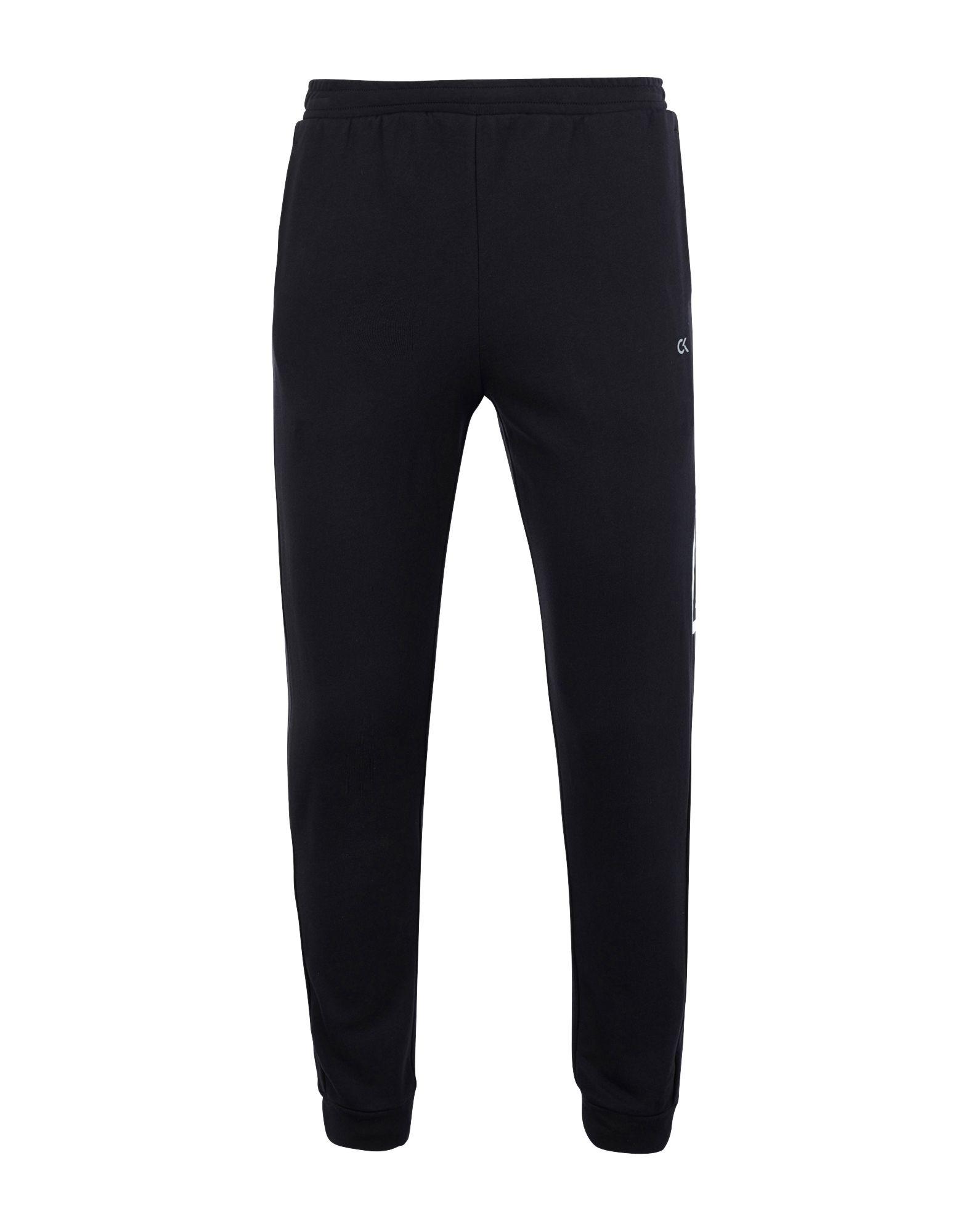 《セール開催中》CALVIN KLEIN PERFORMANCE メンズ パンツ ブラック XL コットン 100%