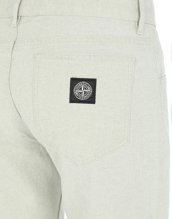 13337284ep - TROUSERS - 5 POCKETS STONE ISLAND