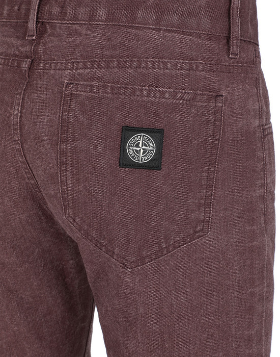 13337284fr - TROUSERS - 5 POCKETS STONE ISLAND