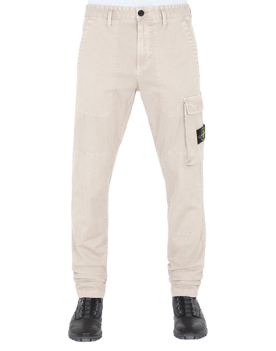 Trousers 315L1 'OLD' DYE TREATMENT  STONE ISLAND - 0