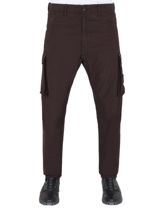 STONE ISLAND 31406 Pants Man Dark Brown