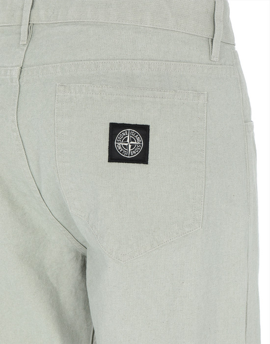 13337314wt - TROUSERS - 5 POCKETS STONE ISLAND
