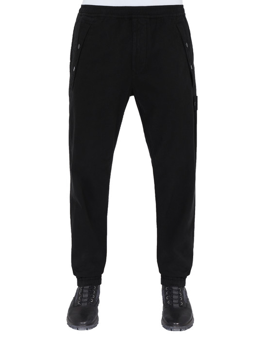 Sold out - STONE ISLAND 324F2 GHOST PIECE Pants Man Black