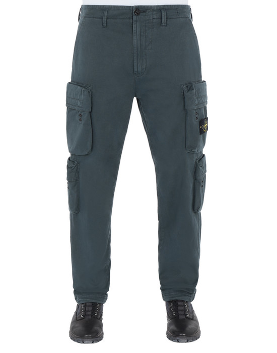 Trousers 30702 'OLD' DYE TREATMENT  STONE ISLAND - 0