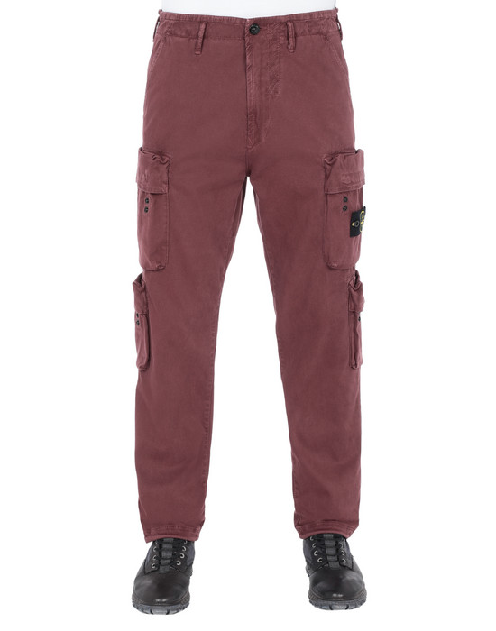 Hosen 30702 'OLD' DYE TREATMENT  STONE ISLAND - 0