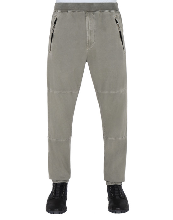 REGULAR TROUSERS  30502 'OLD' DYE TREATMENT  STONE ISLAND - 0