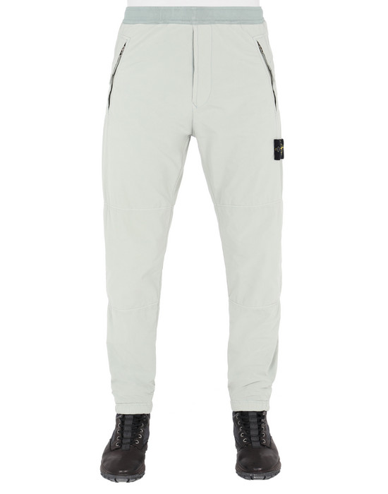 STONE ISLAND 30531 DAVID LIGHT-TC WITH MICROPILE REGULAR PANTS Man Dust Gray