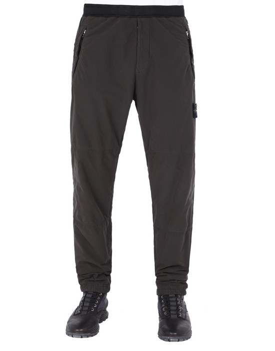 REGULAR TROUSERS 30531 DAVID LIGHT-TC WITH MICROPILE STONE ISLAND - 0