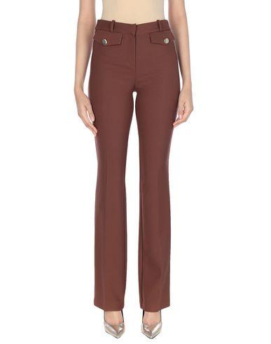 Фото - Повседневные брюки от ANNARITA N TWENTY 4H коричневого цвета