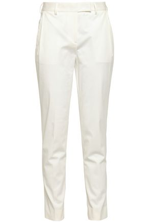 MACKINTOSH Cotton-blend gabardine slim-leg pants