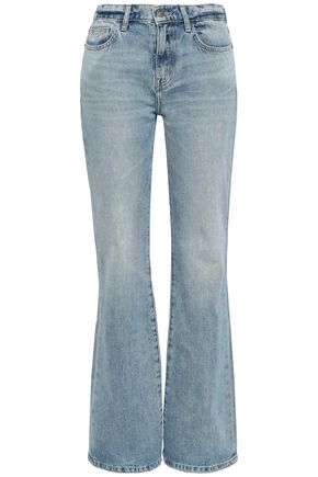 CURRENT/ELLIOTT Harley mid-rise flared jeans
