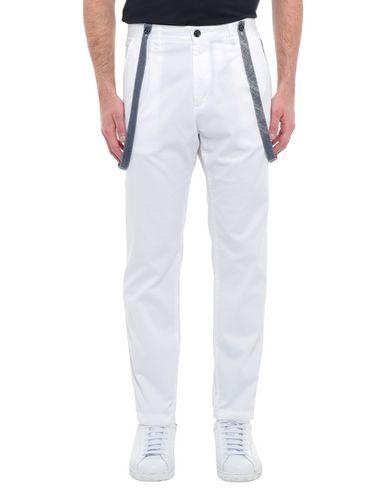 Купить Повседневные брюки от GEAN.LUC белого цвета