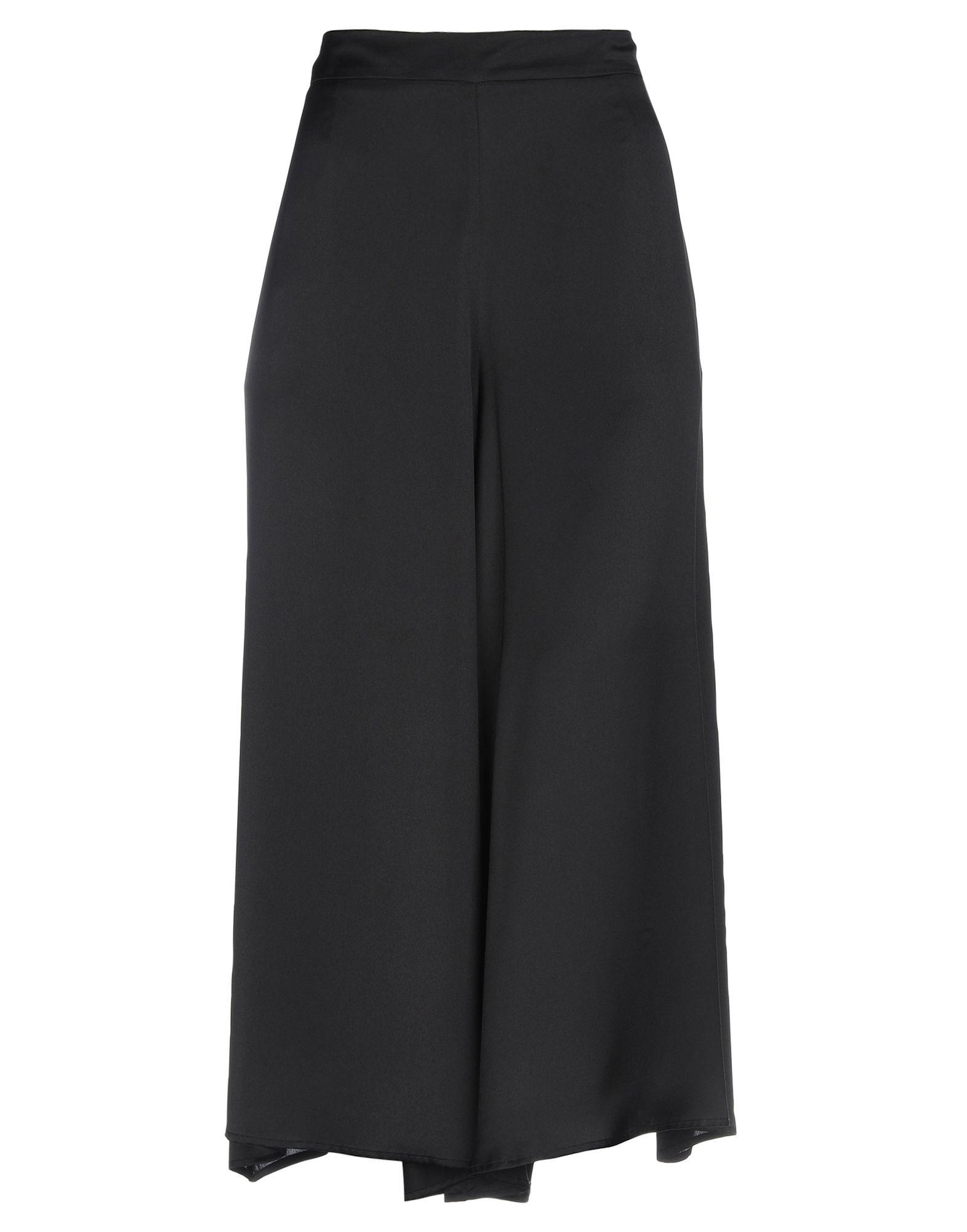 《期間限定セール中》ANNA RACHELE BLACK LABEL レディース パンツ ブラック 48 ポリエステル 100%