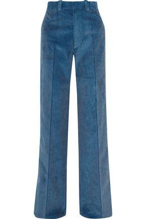 HELMUT LANG Cotton-corduroy wide-leg pants