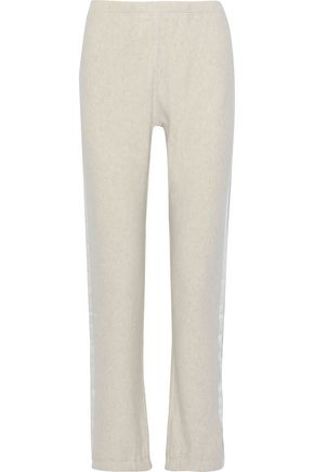 RAG & BONE Striped French cotton-terry track pants