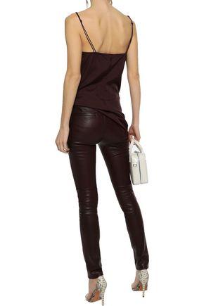 HELMUT LANG Stretch-leather leggings