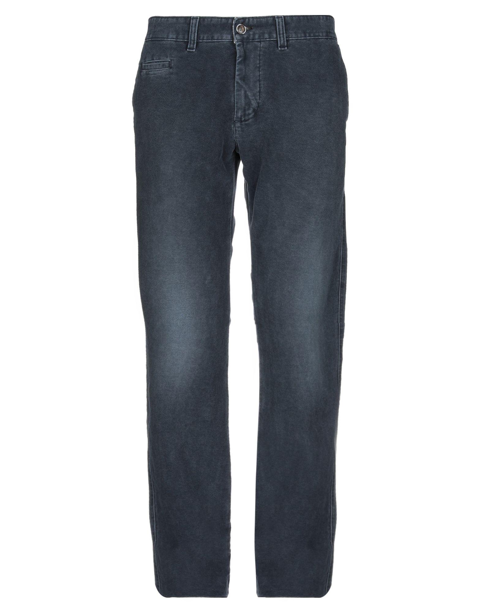 《期間限定セール中》ALV ANDARE LONTANO VIAGGIANDO メンズ パンツ ブルーグレー 54 コットン 100%