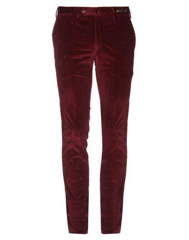 Фото - Повседневные брюки от PT01 цвет баклажанный