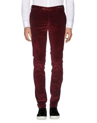 Фото 2 - Повседневные брюки от PT01 цвет баклажанный