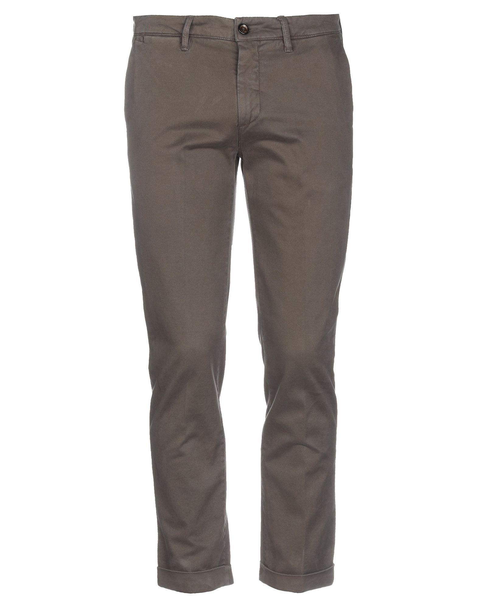 《期間限定セール中》LABORATORI ITALIANI メンズ パンツ ダークブラウン 48 コットン 98% / ポリウレタン 2%