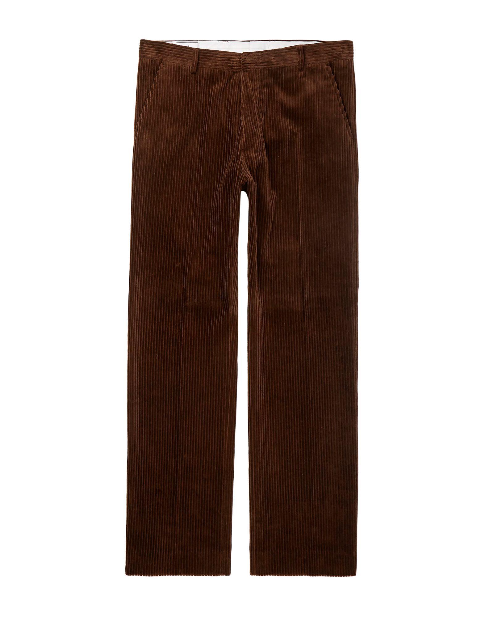 《期間限定セール開催中!》AMI ALEXANDRE MATTIUSSI メンズ パンツ ダークブラウン 38 コットン 100%