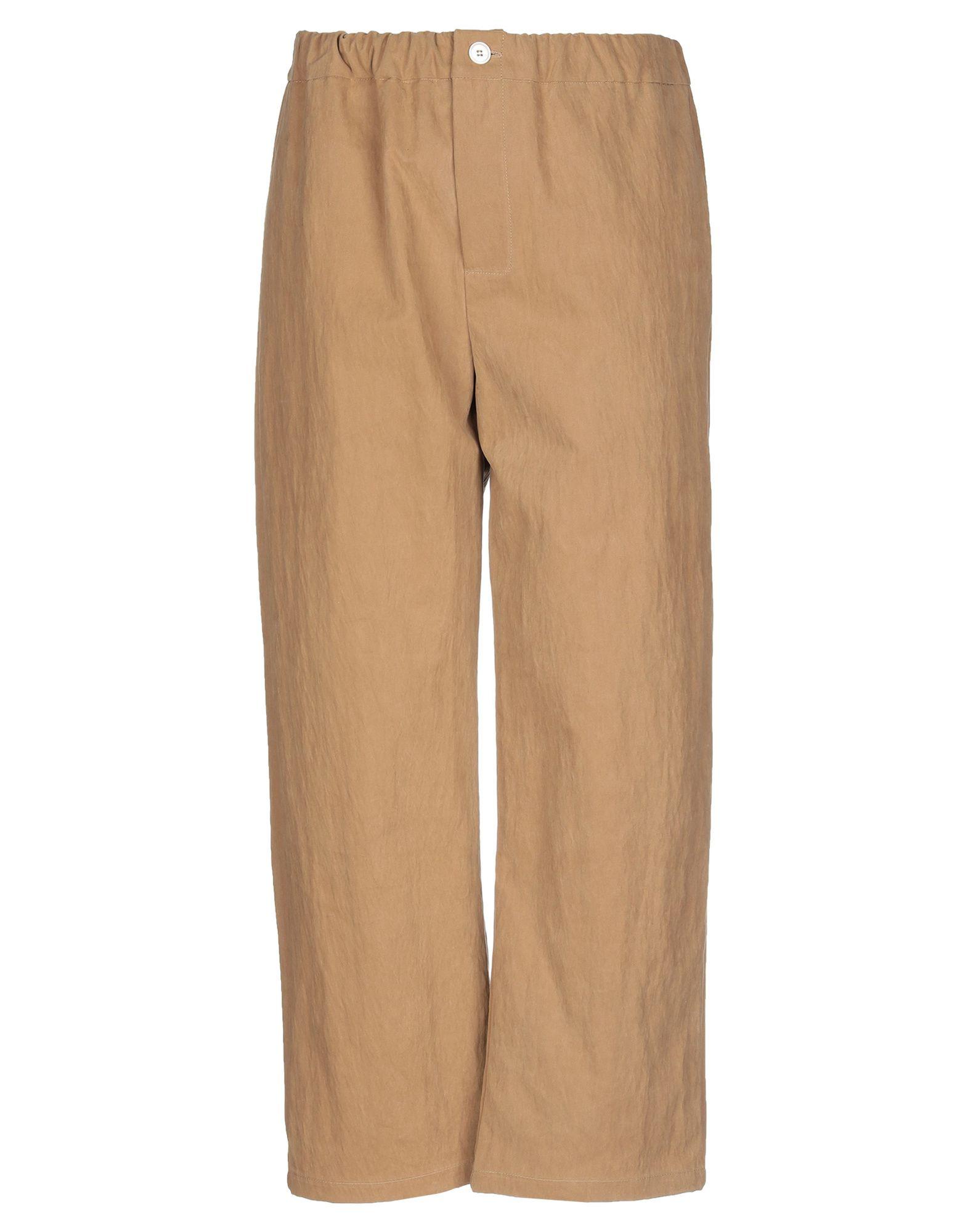 《セール開催中》CAN PEP REY メンズ パンツ キャメル S コットン 53% / ナイロン 47%