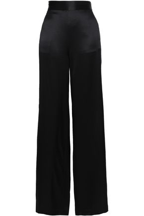 CAMI NYC Silk-satin wide-leg pants
