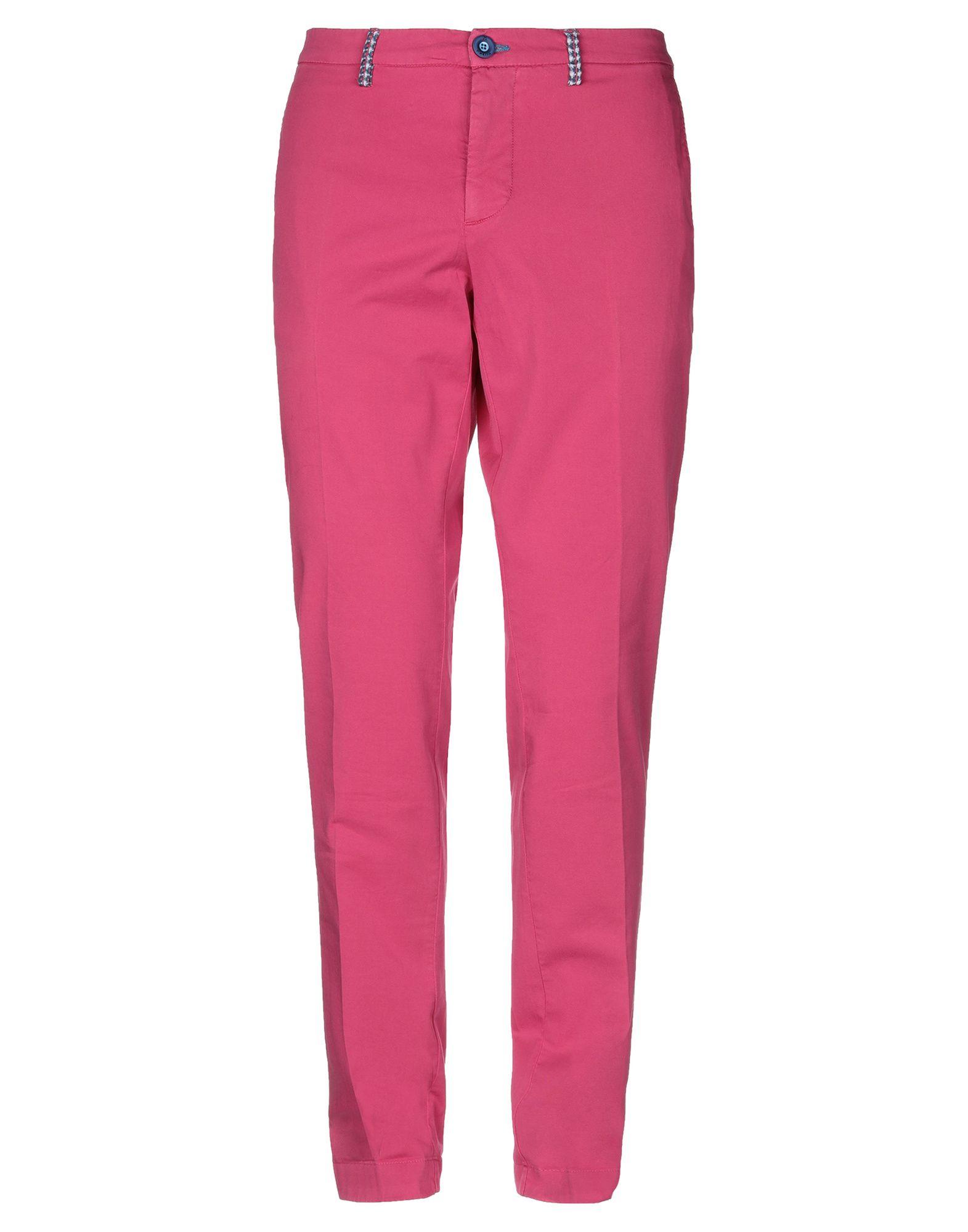 《セール開催中》DIMATTIA メンズ パンツ フューシャ 46 コットン 97% / ポリウレタン 3%