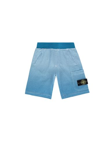 STONE ISLAND JUNIOR FLEECE BERMUDA SHORTS Man 62945  f