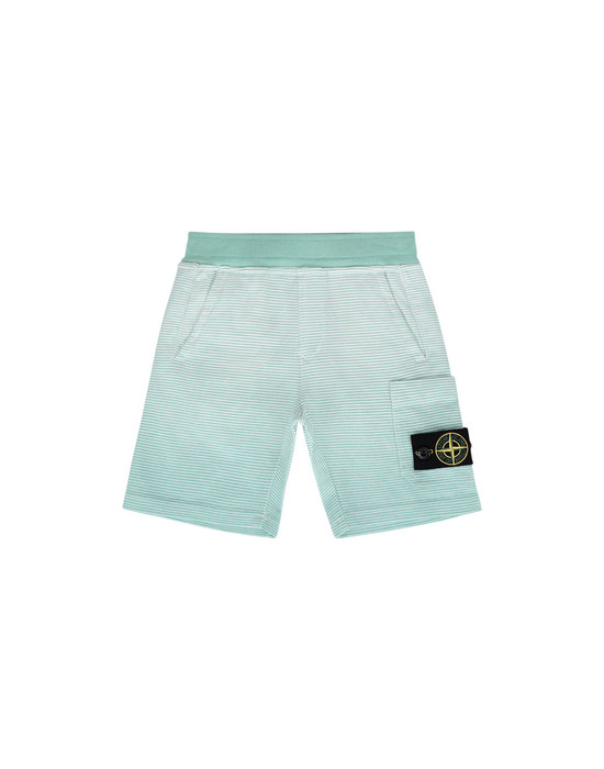 FLEECE BERMUDA SHORTS 62945  STONE ISLAND JUNIOR - 0