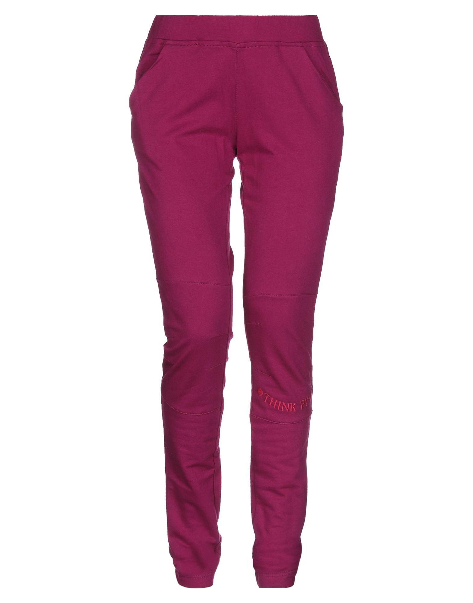 THINK PINK Повседневные брюки цена и фото
