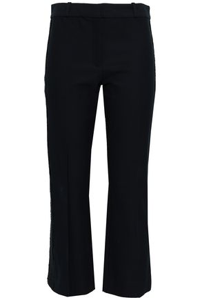 DEREK LAM 10 CROSBY Stretch-cotton kick-flare pants