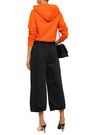 MARC JACOBS Cropped belted cotton wide-leg pants