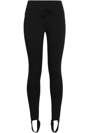 MONROW Jersey stirrup track pants