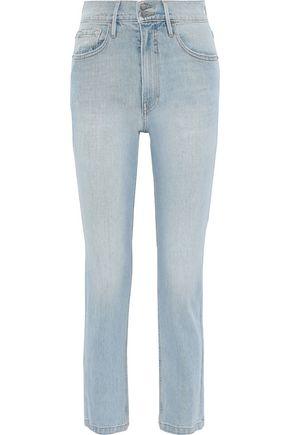 FRAME Le Sylvie Slender Straight Heritage high-rise straight-leg jeans