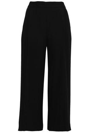 DKNY Stretch-crepe culottes