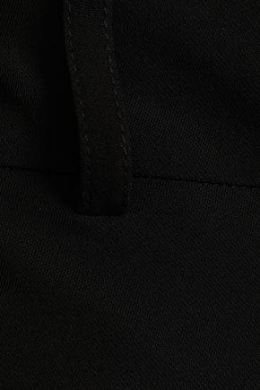 ダナキャランニューヨーク ストレッチクレープ ストレートレッグ パンツ