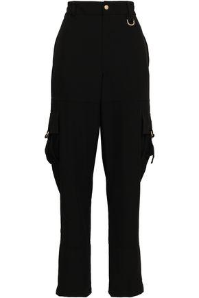 DKNY Stretch-crepe straight-leg pants