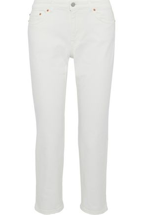 ACNE STUDIOS Cropped mid-rise slim-leg jeans
