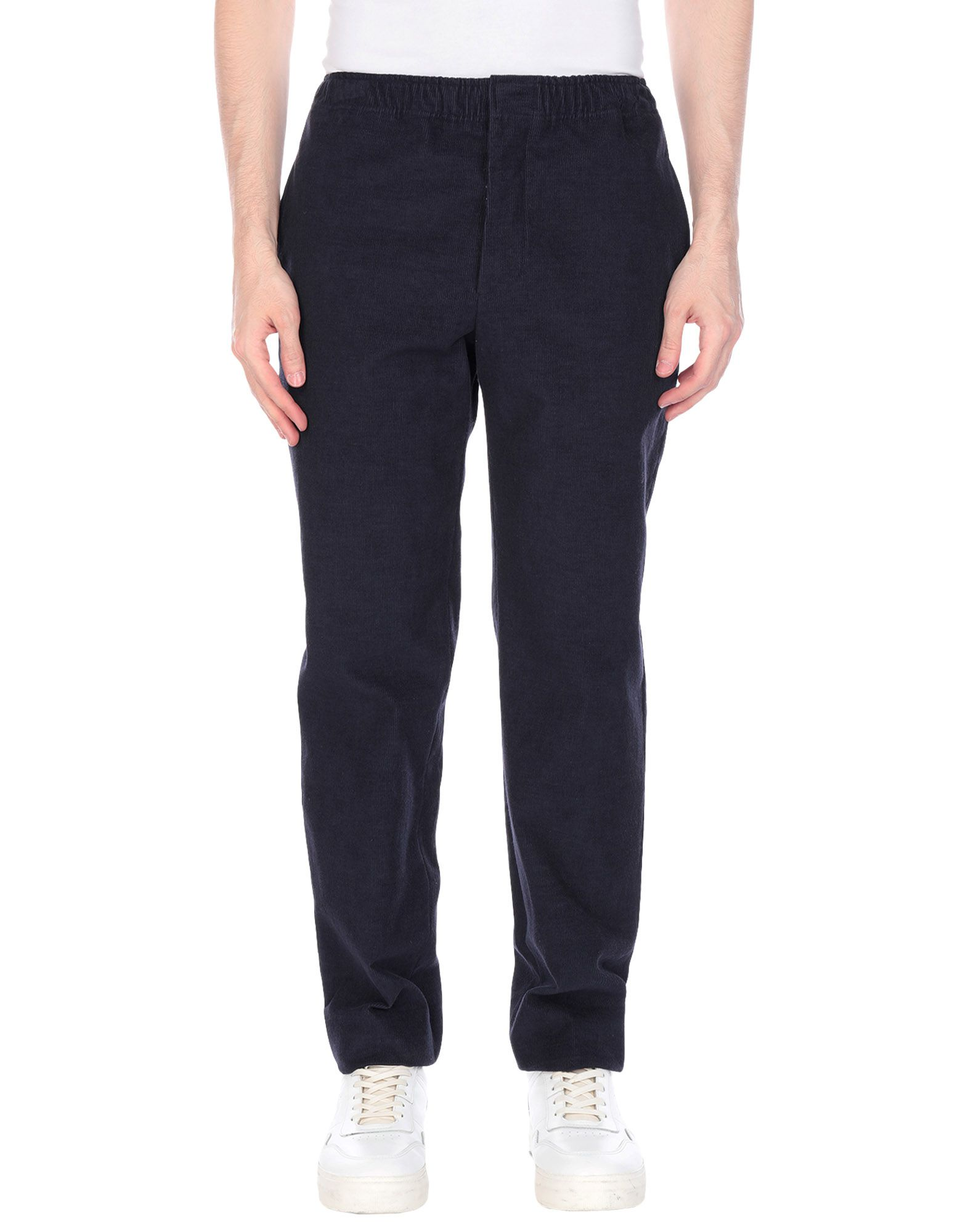 《期間限定セール開催中!》DOPPIAA メンズ パンツ ブルー 44 コットン 85% / 麻 15%