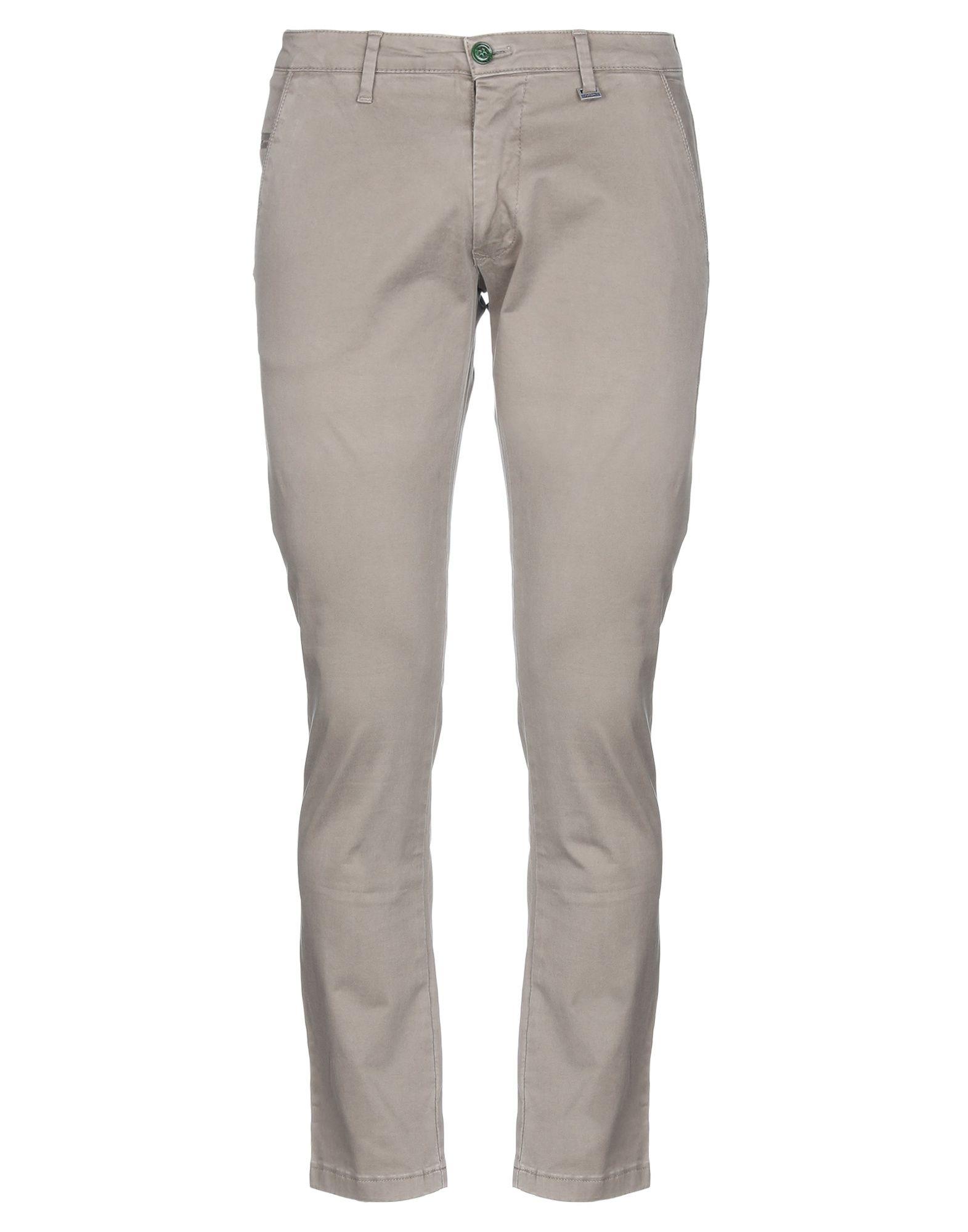 《期間限定セール開催中!》FIFTIETH メンズ パンツ グレー 52 コットン 97% / ポリウレタン 3%