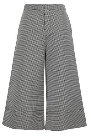 CO Houndstooth-jacquard culottes