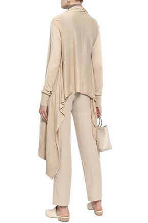 DKNY Stretch-crepe straight-leg pants