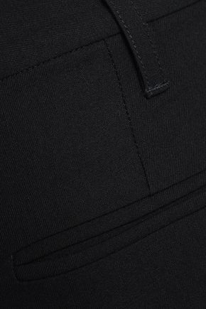 ANN DEMEULEMEESTER Cropped wool skinny pants