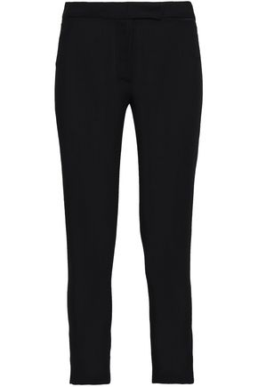 ANN DEMEULEMEESTER Cropped wool skinny pants