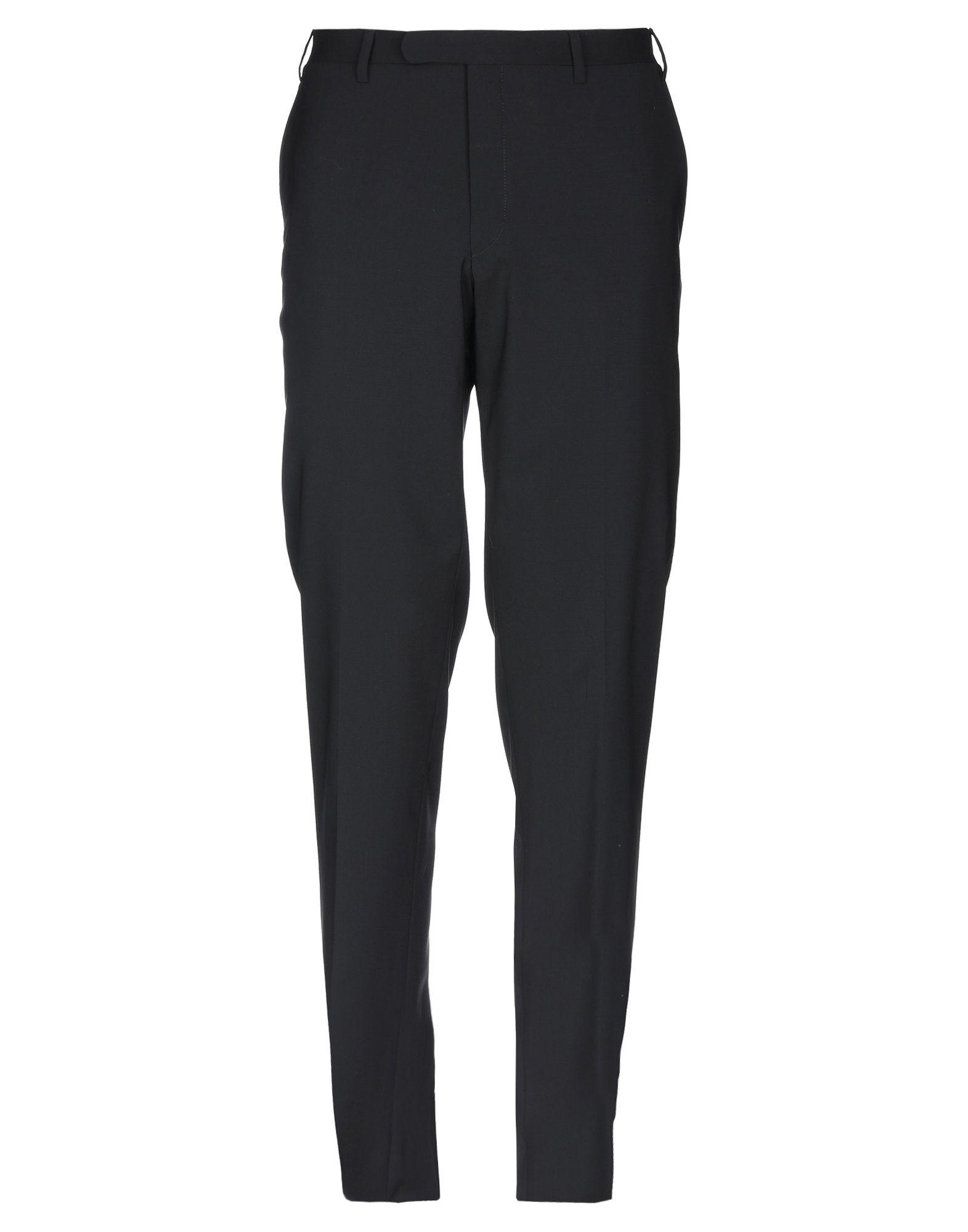 《セール開催中》CC COLLECTION CORNELIANI メンズ パンツ ブラック 52 バージンウール 98% / ポリウレタン 2%