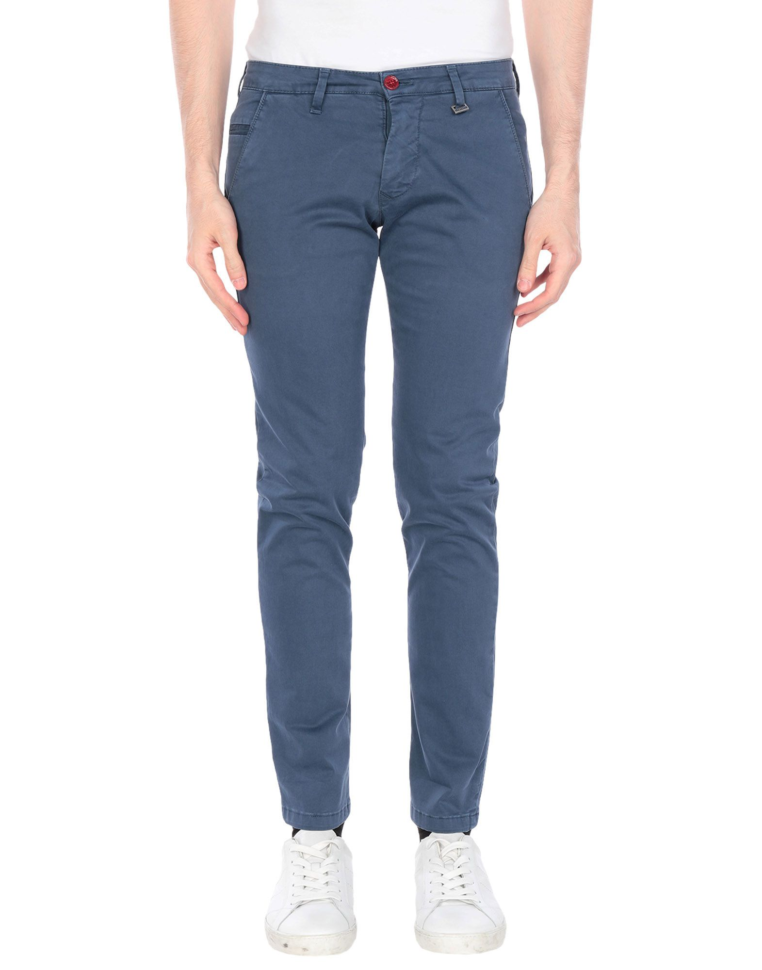 《期間限定セール開催中!》FIFTIETH メンズ パンツ ブルーグレー 30 コットン 97% / ポリウレタン 3%